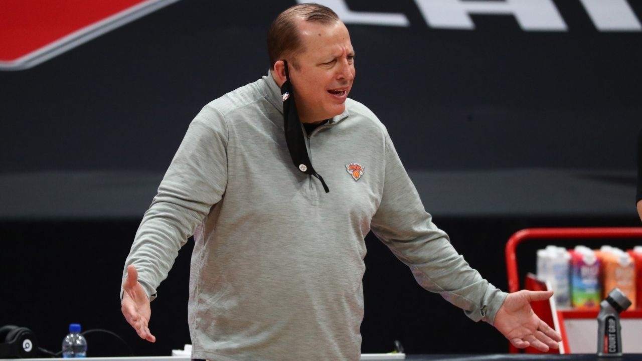 """""""I'm not happy unless I'm miserable"""": Tom Thibodeau gives classic response after the Knicks sing Happy birthday to him"""