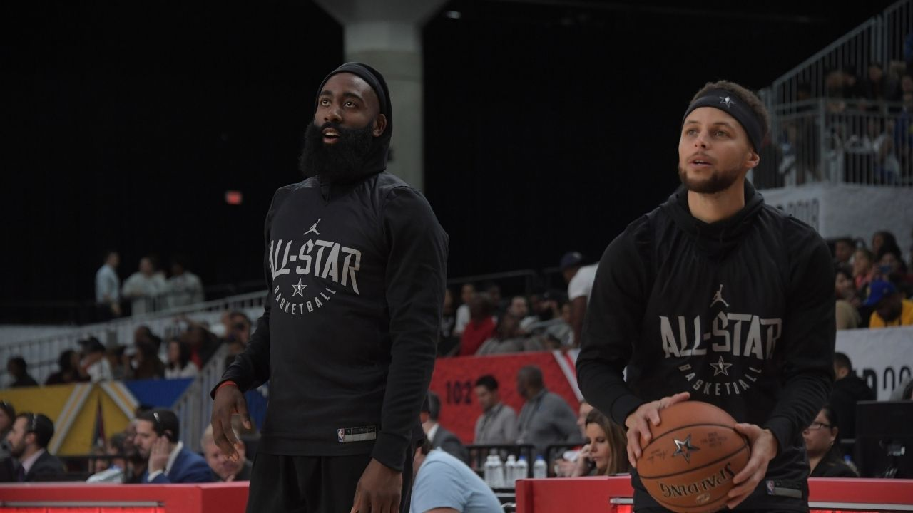 """Nothing should surprise you anymore"": Warriors' Stephen Curry reacts to James Harden joining Kevin Durant and Kyrie Irving with Brooklyn Nets"