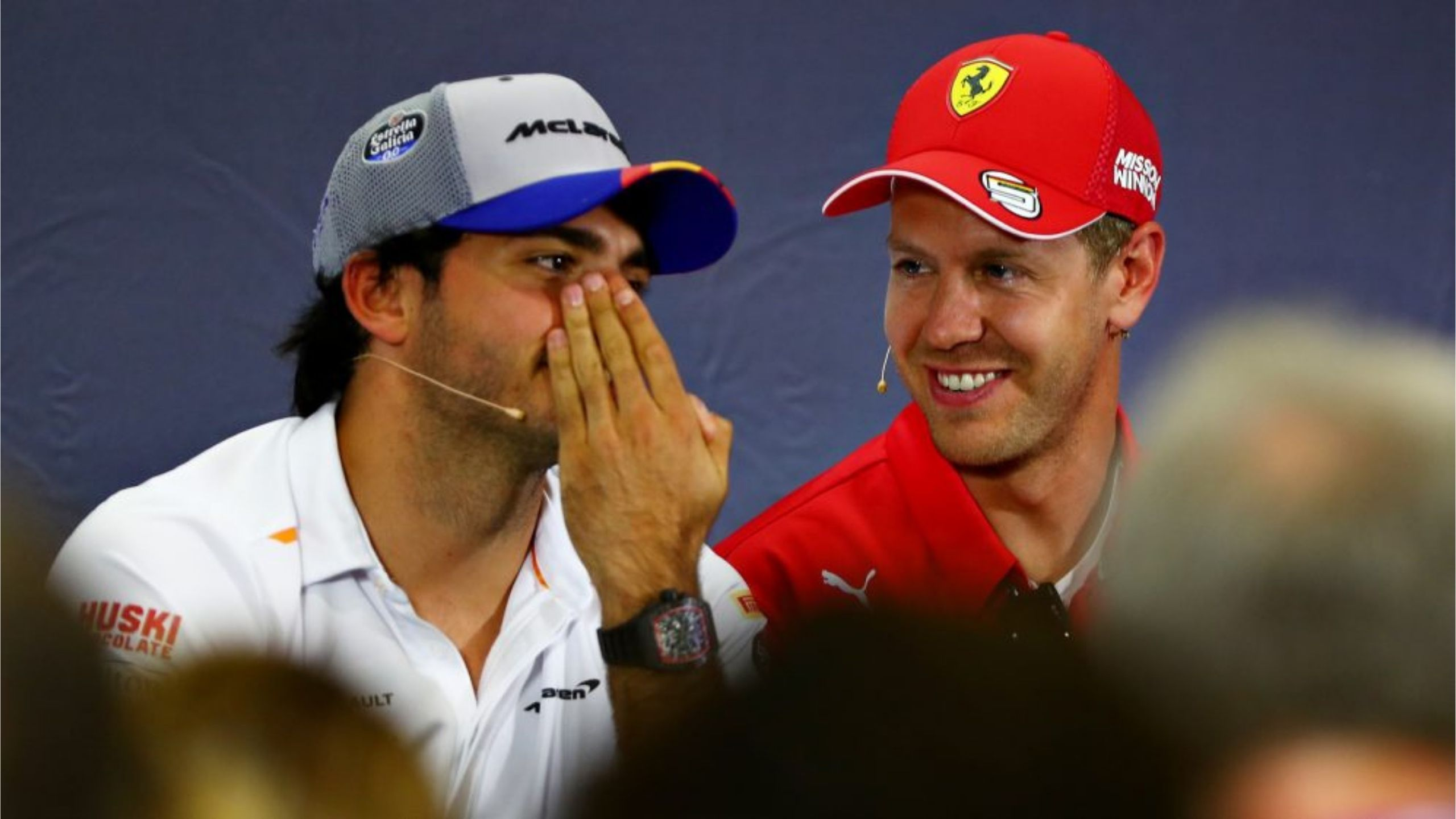 """""""They are the two best teams in history"""" - Carlos Sainz compares Ferrari and McLaren to Real Madrid and Barcelona respectively"""