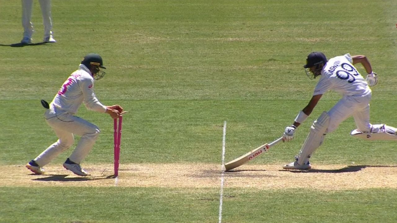 Ravi Ashwin run-out: Twitterati finds faults with Ashwin's disappointing running between the wickets at the SCG