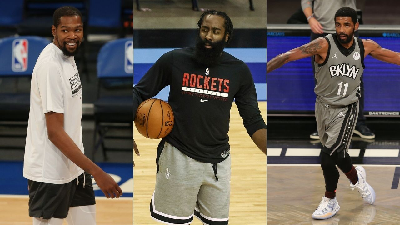 """""""Kyrie Irving, Kevin Durant and James Harden might be the best trio in NBA history"""": Jay Williams explains why the Nets are more fancied than LeBron James and Lakers"""