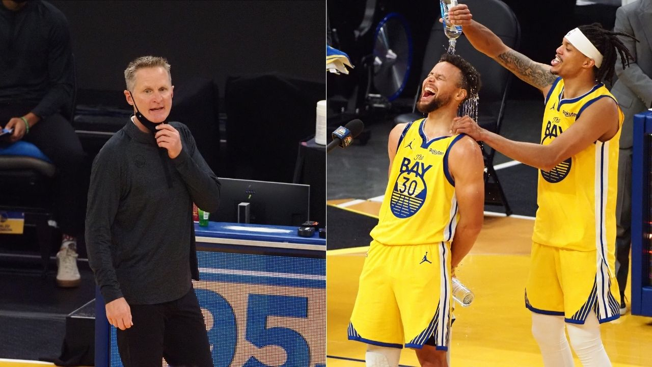 """""""Steph Curry is no freak of nature like LeBron James"""": Steve Kerr takes dig at Lakers star's 'gift' while praising Warriors star on his insane 62 point night"""