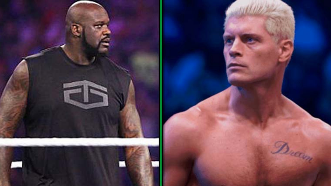 Shaquille O'Neal Challenges Cody and Brandi Rhodes to tag team match at AEW Revolution