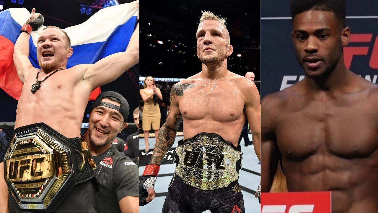 """T.J. Dillashaw is back after doping tests. I want a fight with him"": UFC Bantamweight champion Petr Yan wants to face T.J. Dillashaw Post UFC 259 fight against Aljamain Sterling"