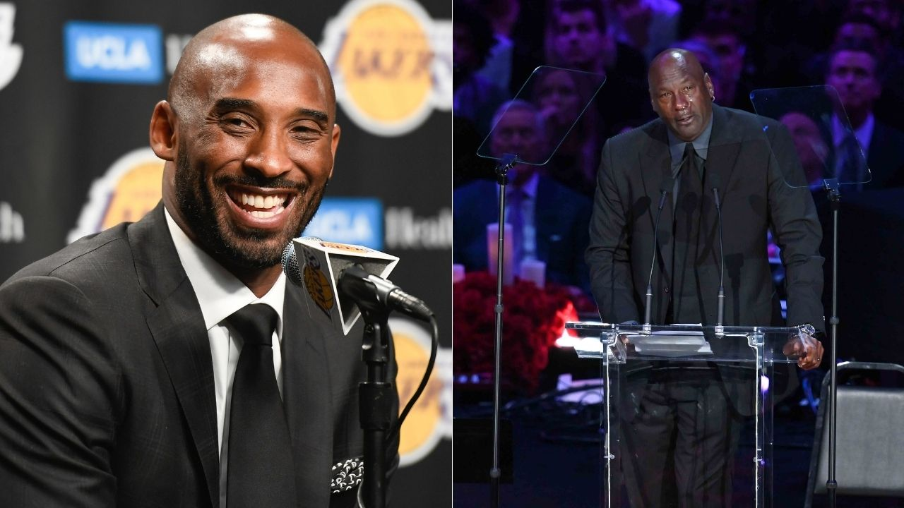 """""""Kobe Bryant is one player that represents the future"""": When Michael Jordan chose the Lakers legend as the best ambassador of the game after himself"""