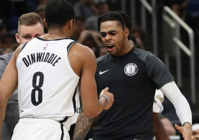 """I'm still playing here"": Spencer Dinwiddie hilariously responds to Nets graphic commemorating him, Caris LeVert and D'Angelo Russell as builders of today's team"