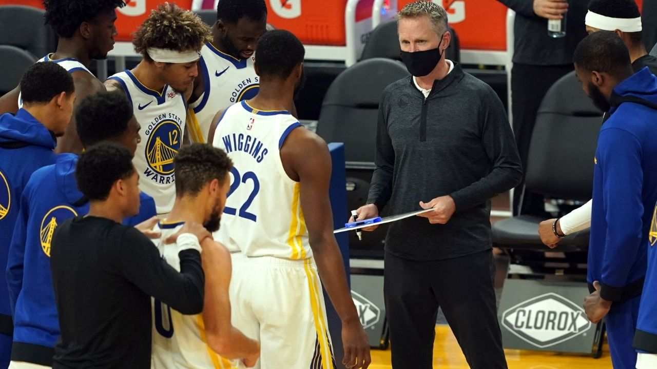 """""""You rely on habits, can't rely on emotions"""": Steve Kerr warns Stephen Curry and co to improve despite win over LeBron James, Lakers"""