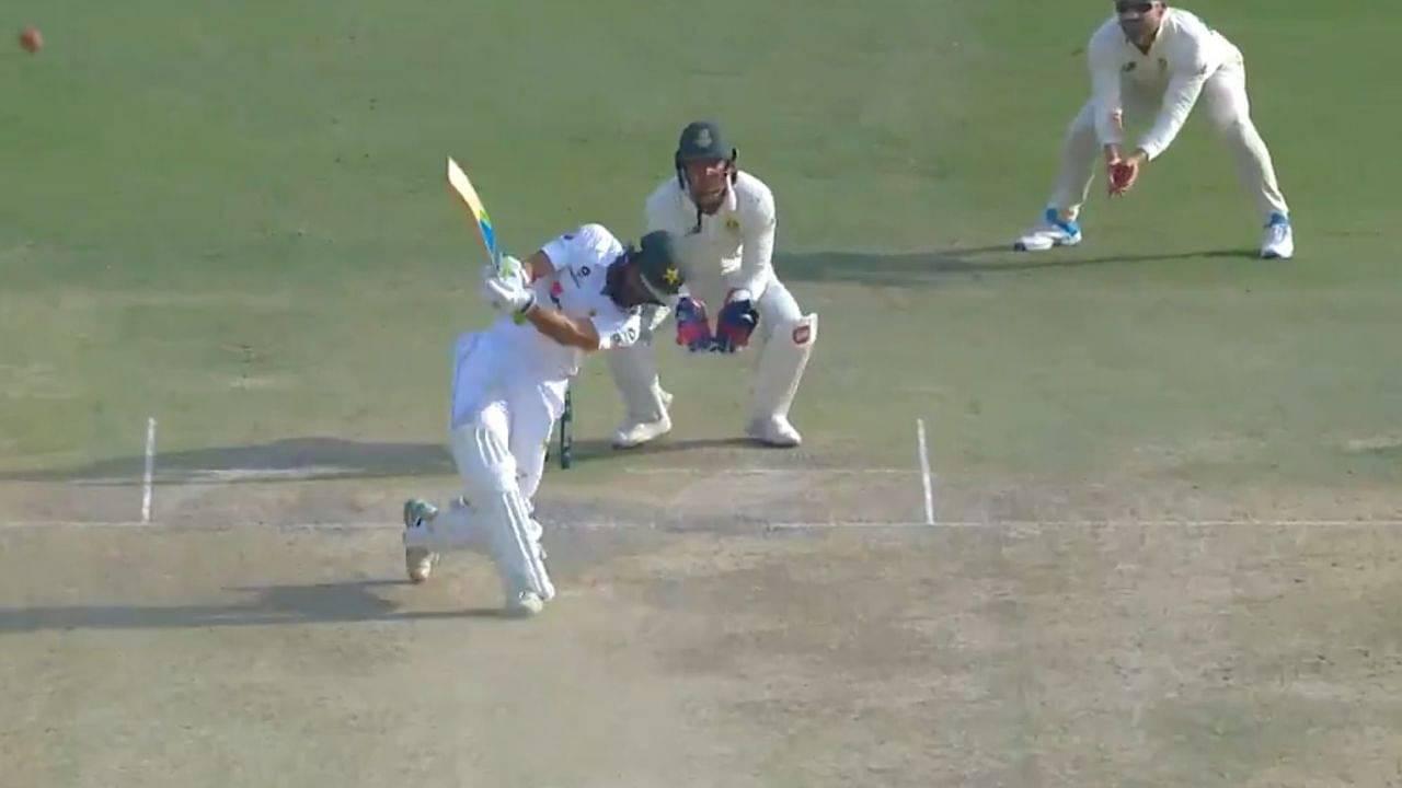 Fawad Alam century: Pakistani batsman hits six to bring up 3rd Test century vs South Africa in Karachi Test