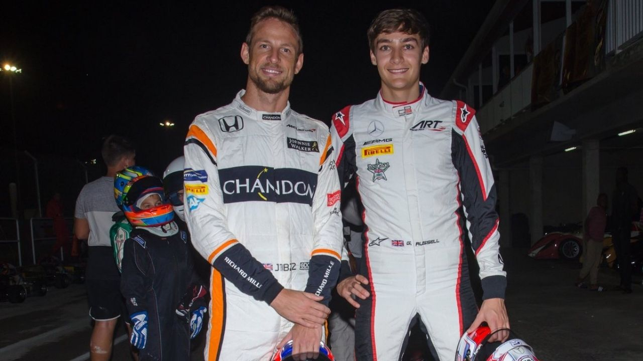 Jenson Button appointment to Williams made George Russell worried