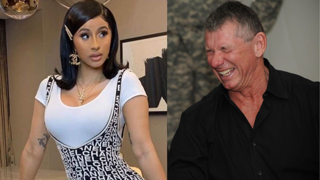 Cardi B responds to WWE name dropping her on RAW Legend's Night