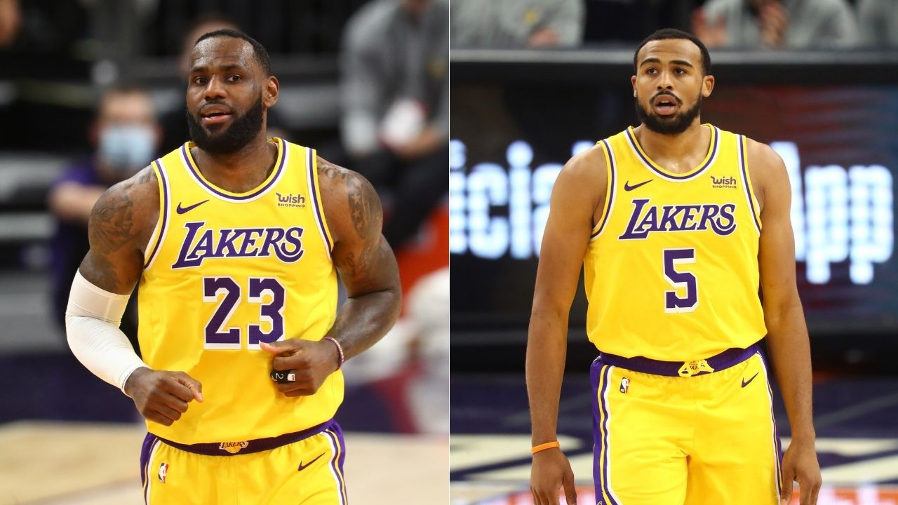 """""""Talen Horton-Tucker has earned his chances"""": LeBron James wants Lakers youngster to carve out a place for himself in their rotation"""