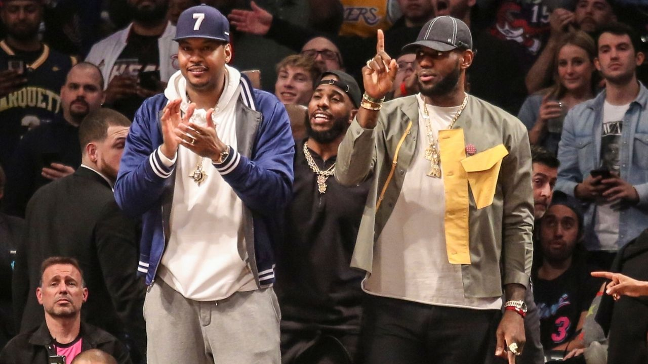 """Let's talk, bro!"": Carmelo Anthony wants in on LeBron James' open invitation to form ownership group, buy Atlanta Dream from Senator Kelly Loeffler"