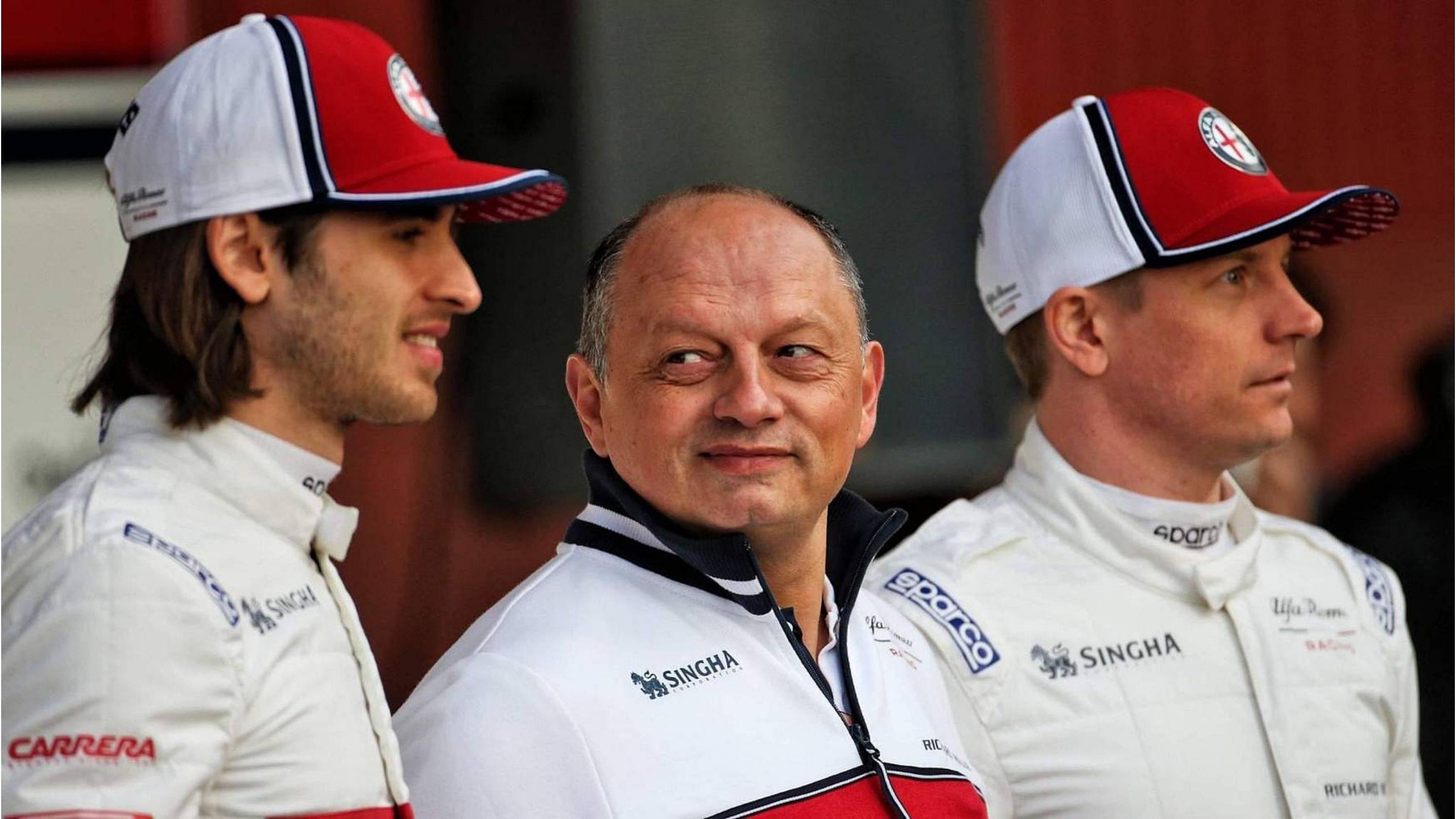 """We were very often fighting withFerrari"" - Alfa Romeo F1 boss Fred Vasseur looking forward to the F1 2021 season"