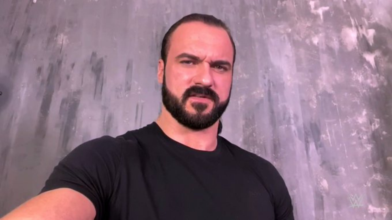 Drew McIntyre addresses WWE fans after testing positive for Covid-19