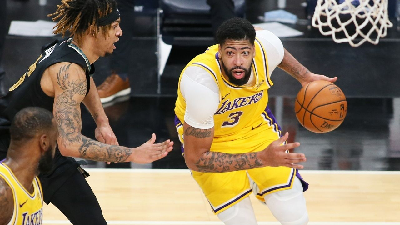 Is Anthony Davis playing tonight vs San Antonio Spurs? Lakers release injury report for star forward ahead of game against DeMar DeRozan and co