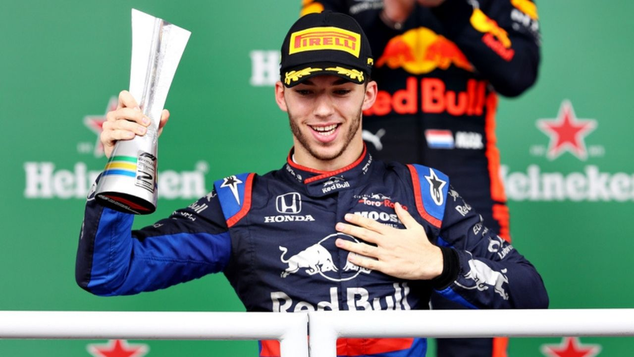 """He was one of the first people I thought of""- Pierre Gasly reveals he remembered his old friend after Brazilian GP podium"