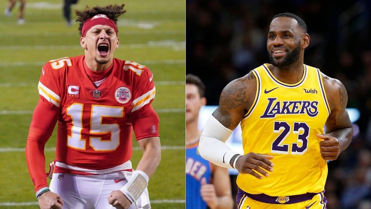 """Like LeBron James vs Michael Jordan"": NFL great and announcer Tony Romo compares Tom Brady vs Patrick Mahomes in the Super Bowl to basketball GOATs"