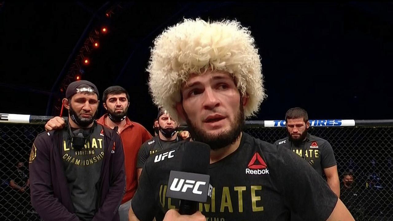 UFC plans for Lightweight division in case Khabib Nurmagomedov vacates title revealed