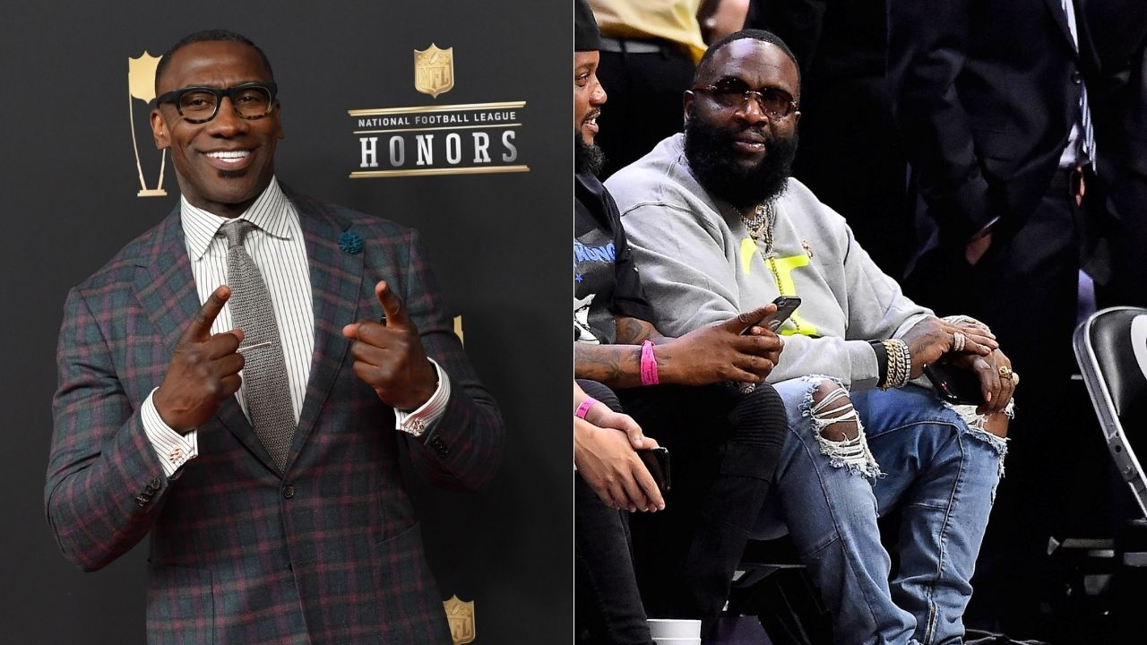 """Michael Jordan is the GOAT, Charles Barkley is 3rd"": Shannon Sharpe ridicules rapper Rick Ross for his bizarre list of top 5 NBA players of all time"