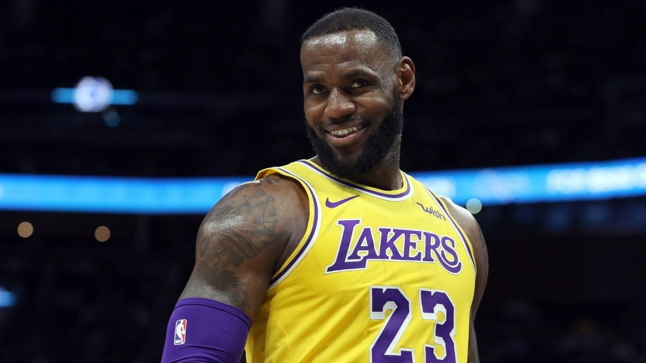 """""""LeBron James enters $1 billion club"""": Lakers star becomes fifth member of exclusive club alongside Tiger Woods, Cristiano Ronaldo, Lionel Messi and Floyd Mayweather"""