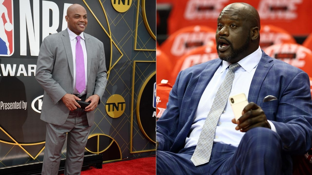 """""""I got 4 more than Charles Barkley, that's all I care about"""": Lakers legend Shaquille O'Neal hilariously creates another 'Rings, Ernie!' moment"""