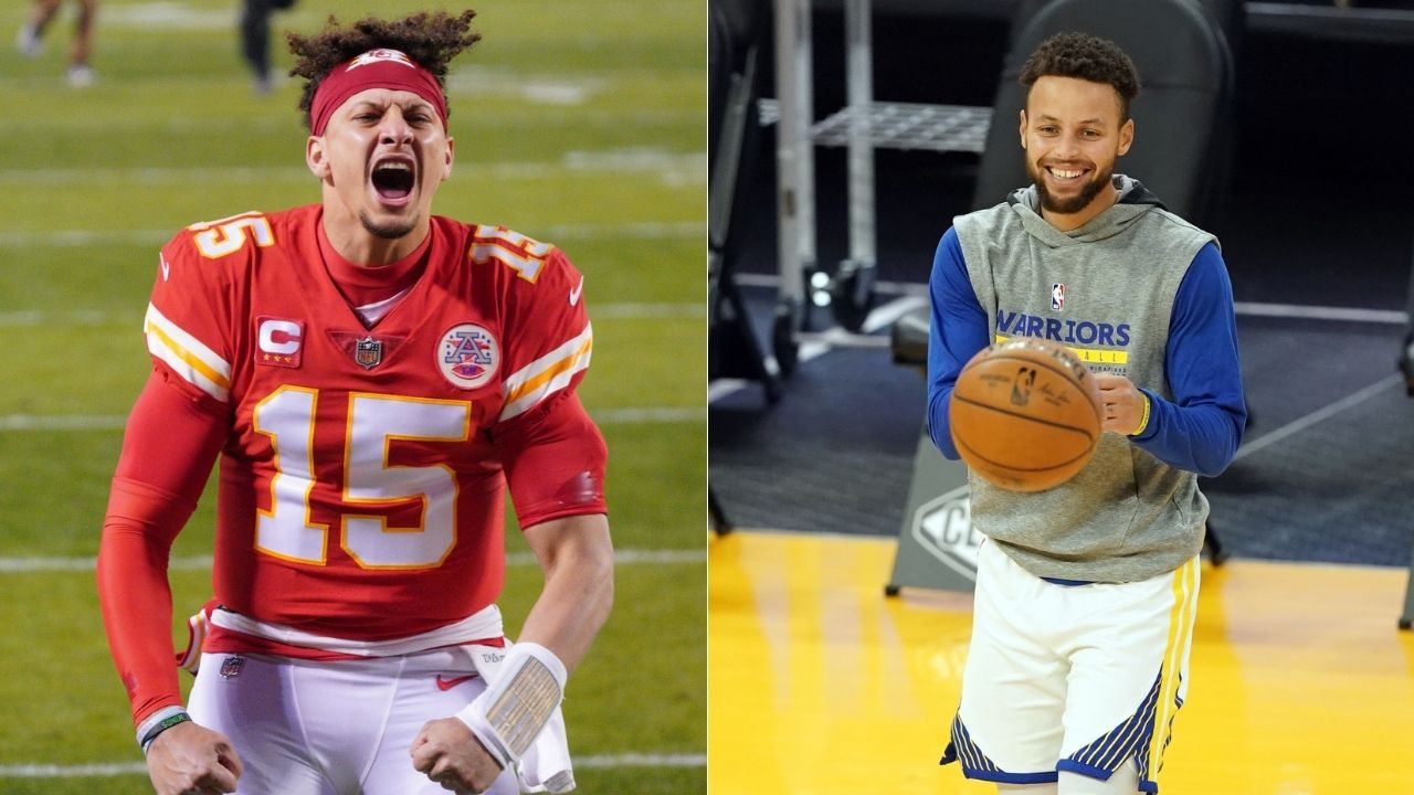 """Patrick Mahomes is the Steph Curry of the NFL"": Damian Lillard congratulates Chiefs quarterback for setting up Super Bowl with Tom Brady"