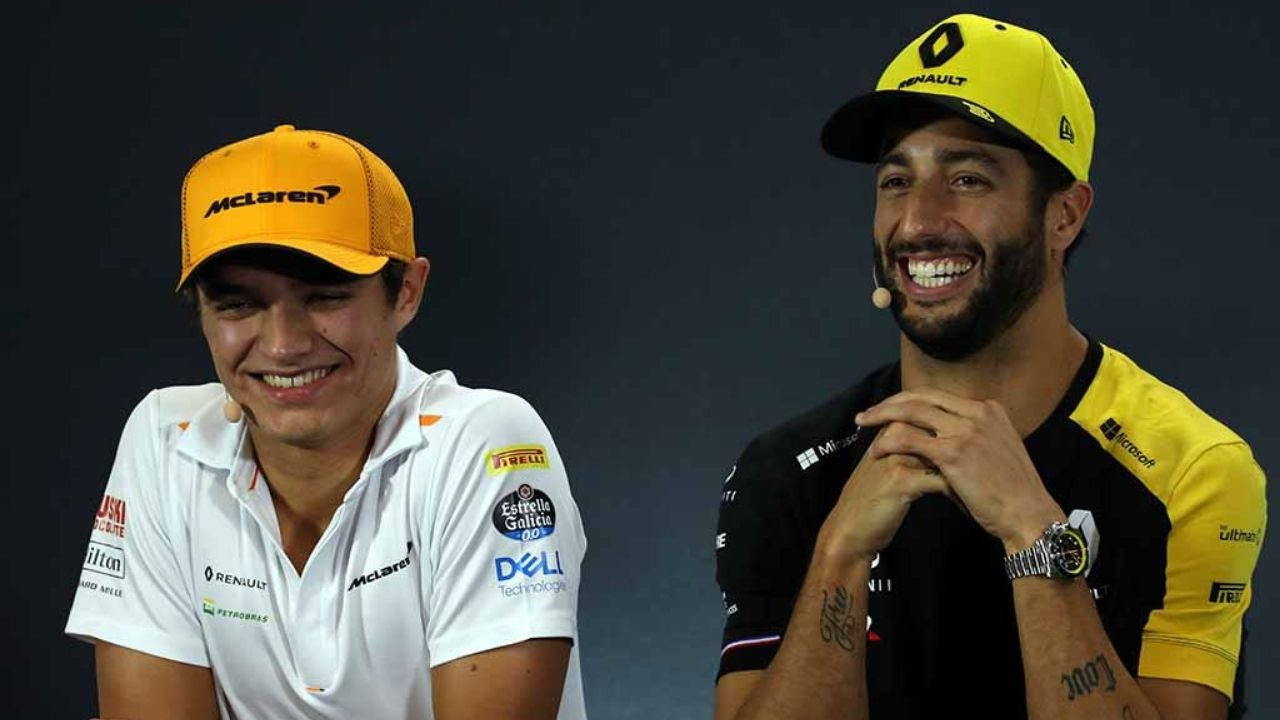 """""""It's not going to be a comedy show""""- Daniel Ricciardo refuses to join Lando Norris comedy show"""