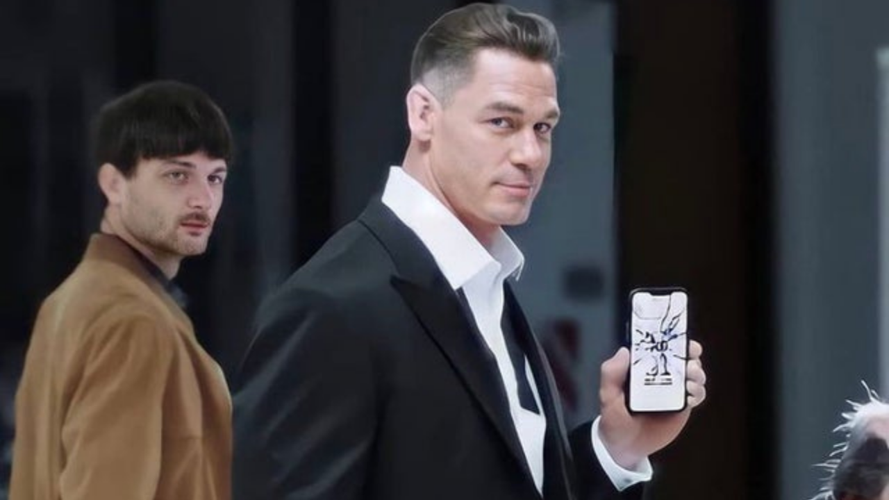WWE Star John Cena debuts new look in a recent commercial