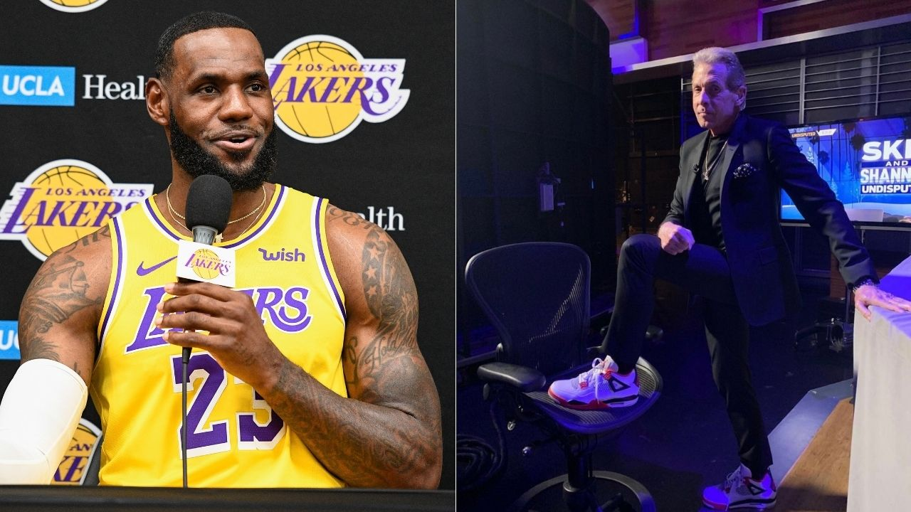 """""""LeBron James opened the door and set the tone"""": Skip Bayless praises Lakers superstar for using his platform, congratulates NBA for unity after Washington riots"""