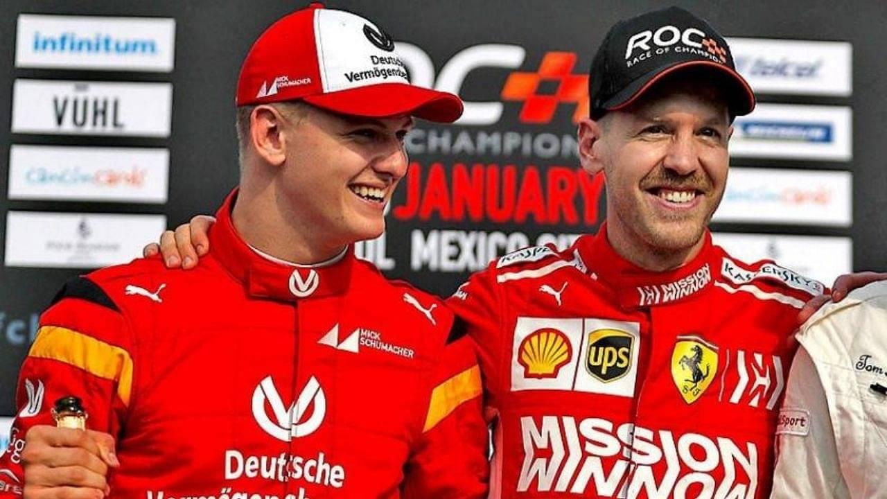 """I'm happy to help Schumacher where I can""- Sebastian Vettel offers his mentorship to Mick Schumacher"