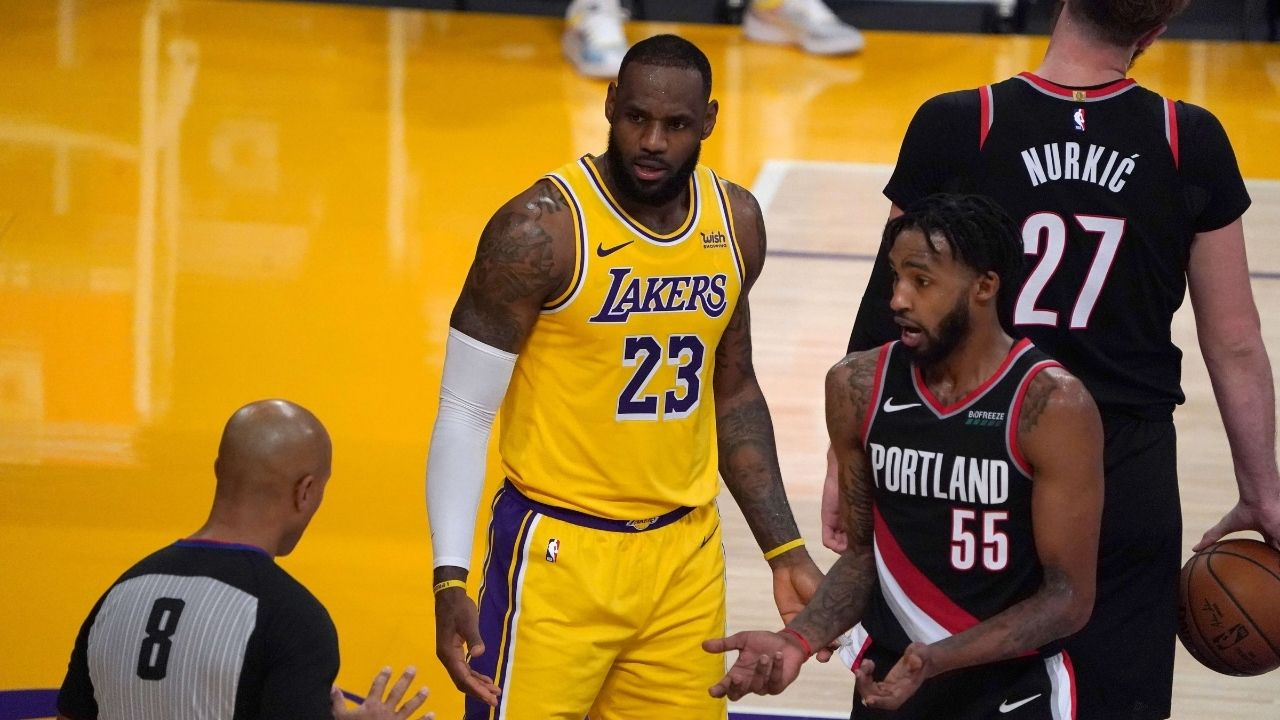 'Lebron James is a racist and narcissist': Man wearing t-shirts with offensive messages for Lakers star banned from Cavs' Quicken Loans Arena