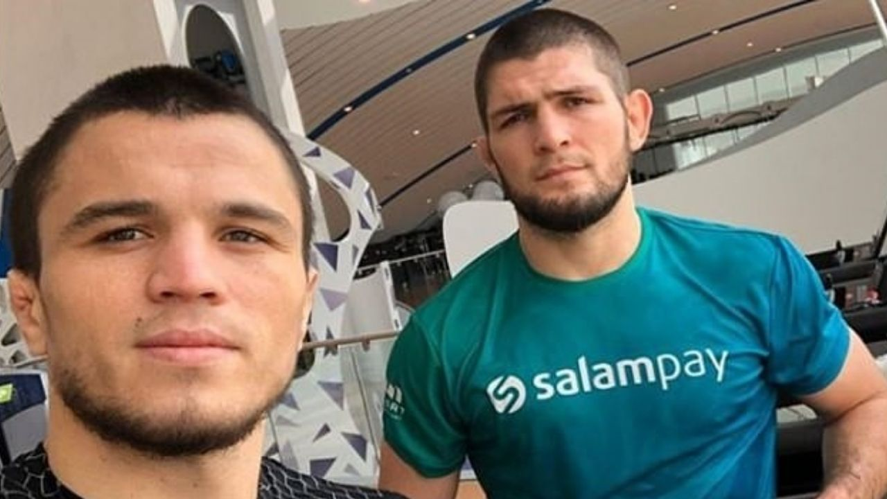 Khabib Nurmagomedov Translates For Cousin Umar Nurmagomedov at UFC Fight Island 8; Reveals The Uncanny Resemblance He and His Brother Shares