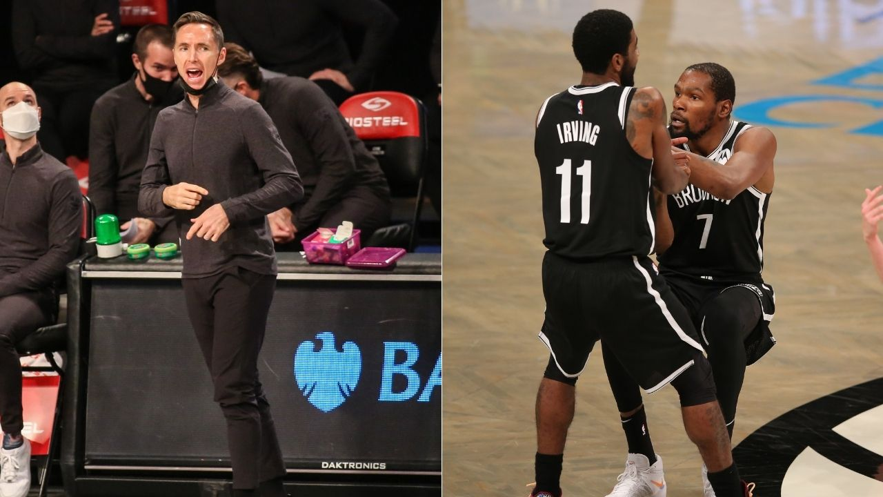 """""""Wanted Kevin Durant and Kyrie Irving to resolve their own problems"""": Nets coach Steve Nash explains why he didn't take timeouts against Hawks"""