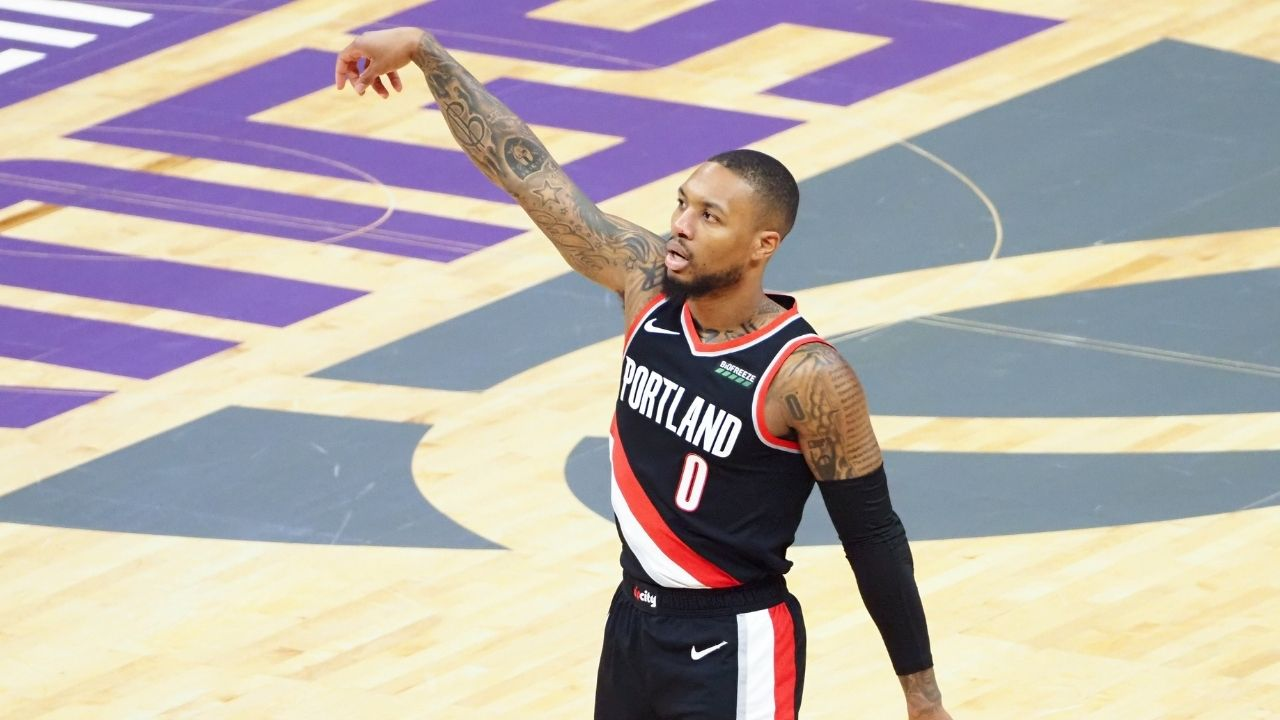 """""""I'm living my life in a box"""": Blazers star Damian Lillard speaks about how tough it has been to stay in isolation as part of NBA's Covid-19 protocol"""