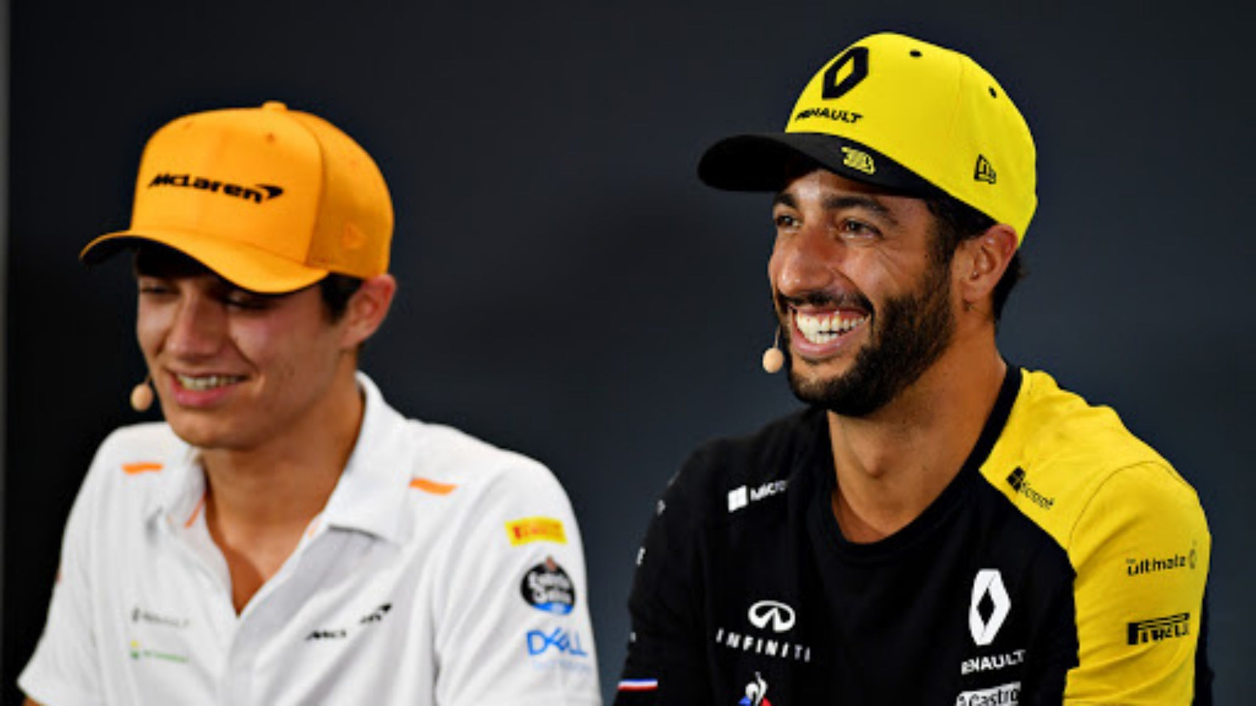 """I'm going there for business"" - Daniel Ricciardo shots down suggestions of a ""meme power couple"" with McLaren teammate Lando Norris"