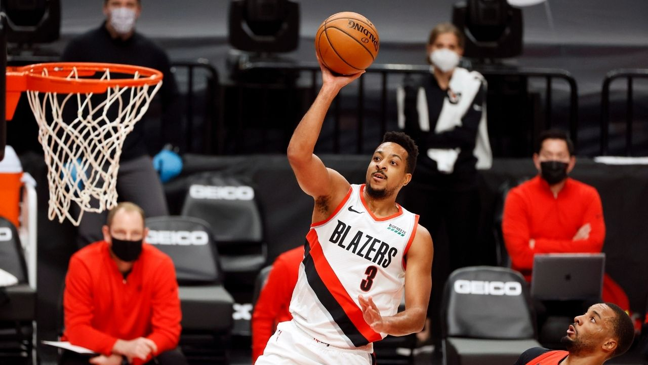 """""""I'm a killer, a shark"""": CJ McCollum references Lakers legend Kobe Bryant while talking about his mentality while hitting game-winner for Blazers vs Raptors"""