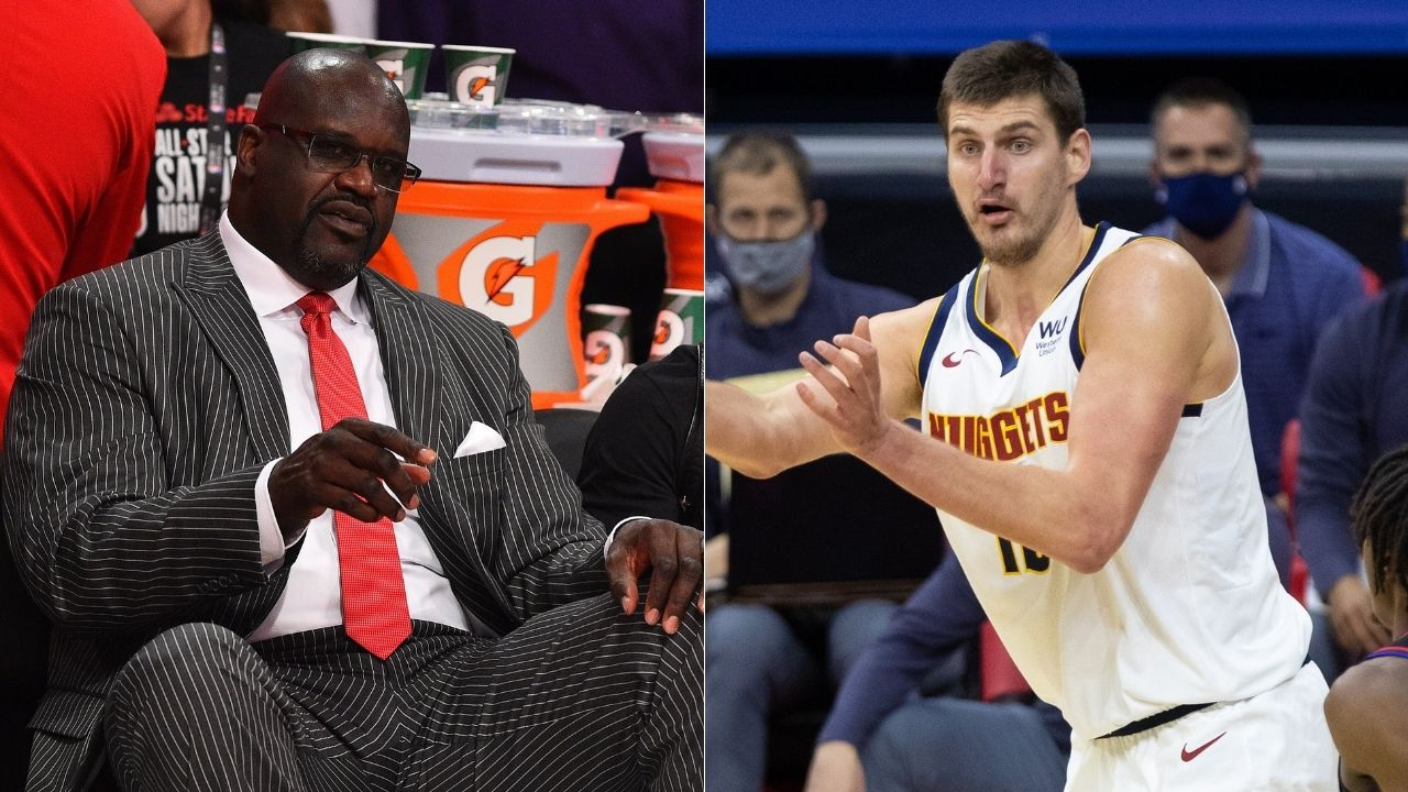 """""""I thought Nikola Jokic was Russian"""": Lakers legend Shaquille O'Neal hilariously mistakes Serbian Nuggets star's nationality, speaks to him in Russian"""