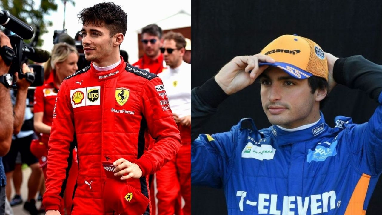"""""""Charles and I have no problems""""- Carlos Sainz assures healthy relationship midst Ferrari duo"""