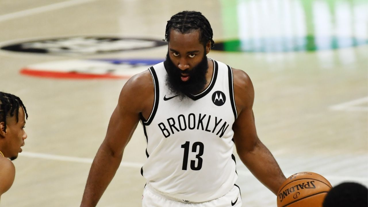 """James Harden will learn when to be aggressive and score"": Kevin Durant equates former Houston star's arrival in Brooklyn to joining a new school"
