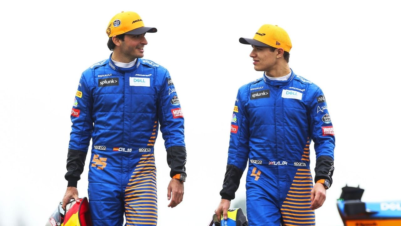 """""""Often hated each other""""- Lando Norris on reality of his relationship with Carlos Sainz"""