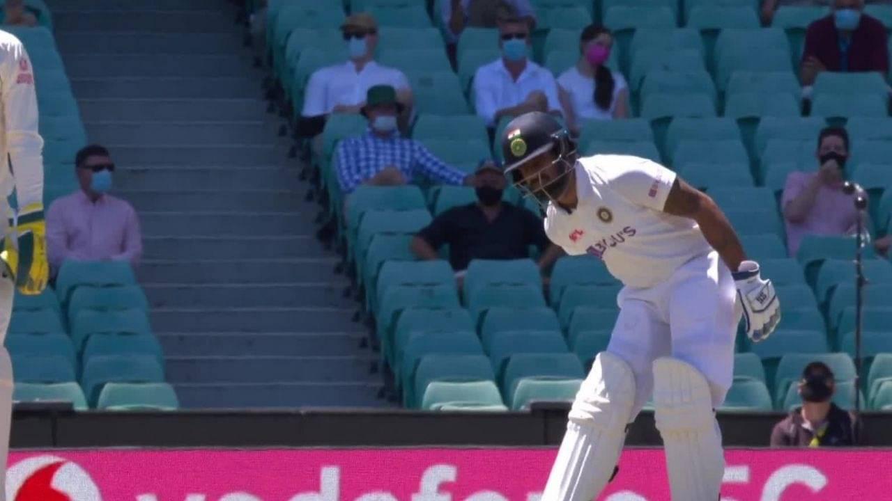 Is runner allowed in cricket: Why isn't Hanuma Vihari opting for a runner in Sydney Test?
