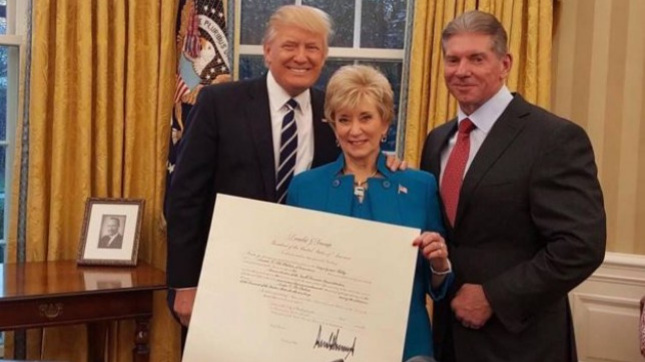 Linda McMahon led PAC donated money to group behind Capitol Building Riots