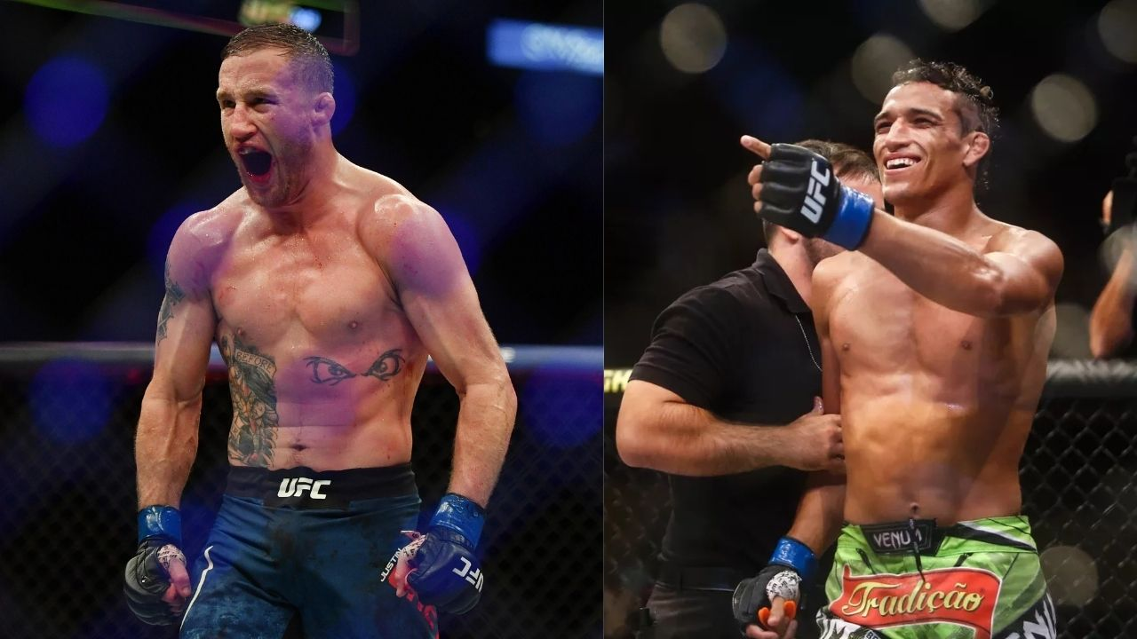 """Justin Gaethje Vs. Charles Oliveira: The fight which can produce the """"Probably next"""" No.1 Contender for the UFC Lightweight title"""