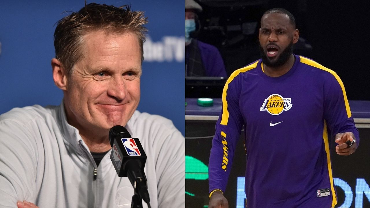"""""""LeBron James and Lakers are where we found ourselves in the 73-9 season"""": Warriors' Steve Kerr praises reigning NBA champions for their gameplay and mentality this year"""