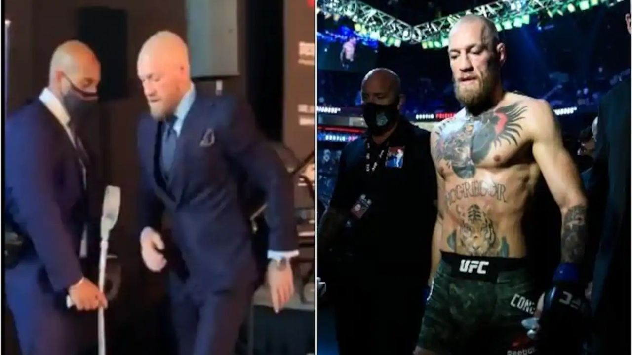 """""""The leg is okay"""": John Kavanagh Gives An Update On The Leg Injury Conor McGregor Suffered At UFC 257 Against Dustin Poirier"""