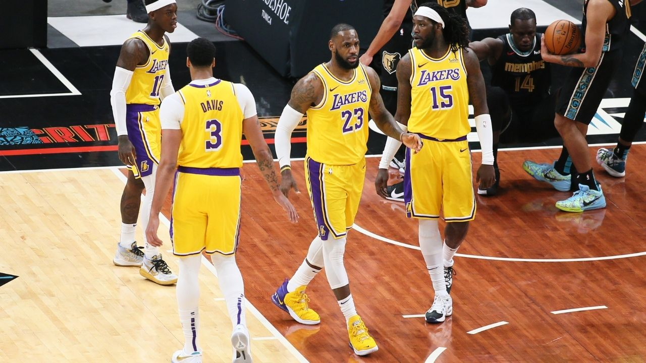"""""""LeBron James is only 3rd best as a shooter on our team"""": Anthony Davis reveals who the top 3 shooters of the Lakers are this season"""
