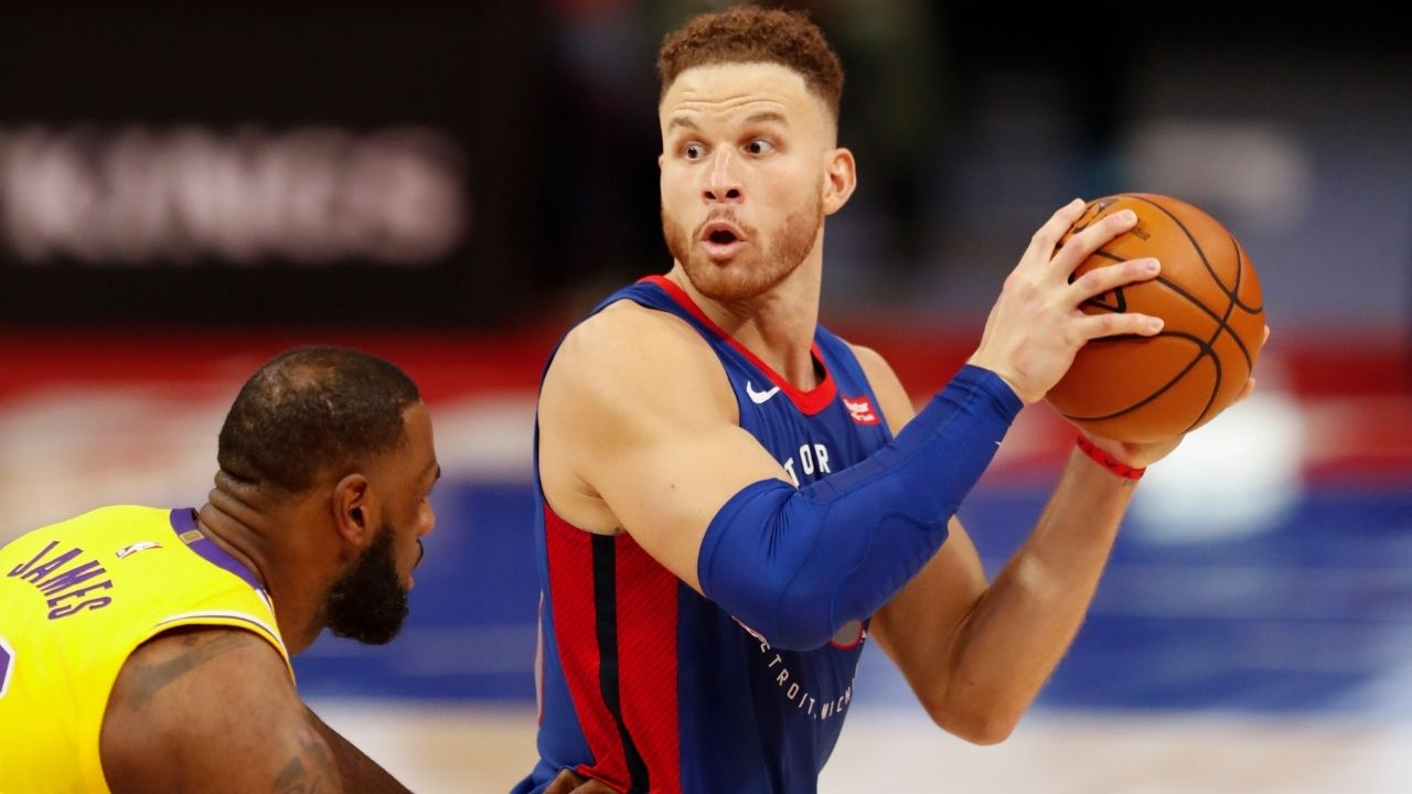 """""""LeBron James, you are the biggest flopper in the league"""": Blake Griffin mockingly laughs at Lakers star after baiting refs into foul call"""