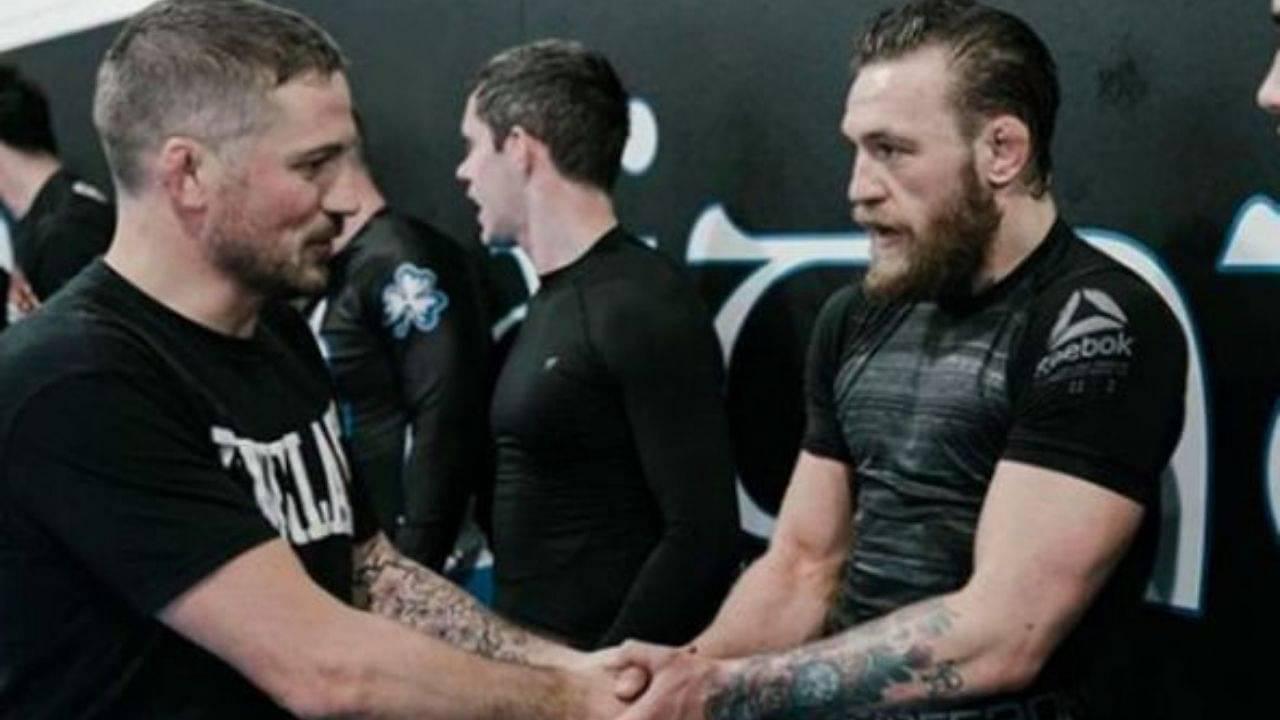 """It was certainly part of our training, dealing with leg kicks"": John Kavanagh Explains How Dustin Poirier's Leg Kicks Downed Conor McGregor At UFC 257"