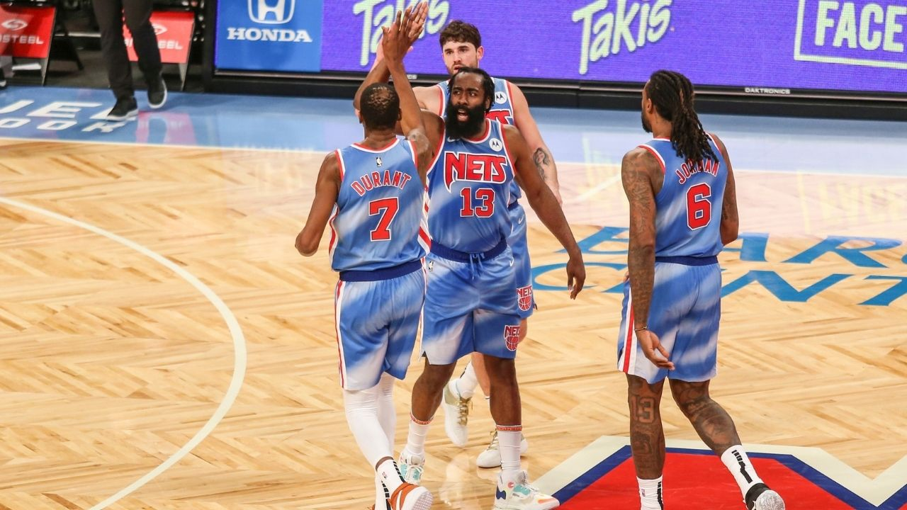 """James Harden rips into Shaquille O'Neal and Charles Barkley after Nets debut: """"We talk about upliftment but these talking heads do the opposite on TV"""""""