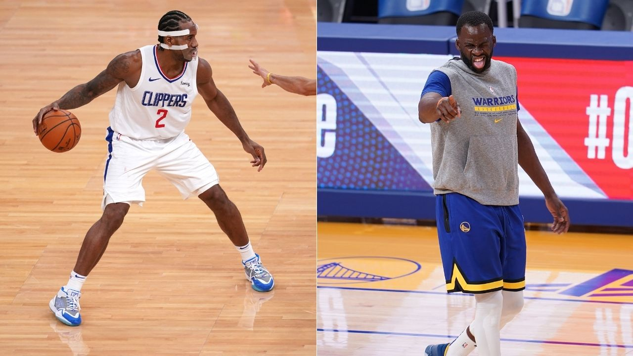 """""""Kawhi Leonard wasn't happy with Draymond Green's flagrant foul"""": Video shows how Clippers Finals MVP was frustrated with Warriors star's foul on him"""